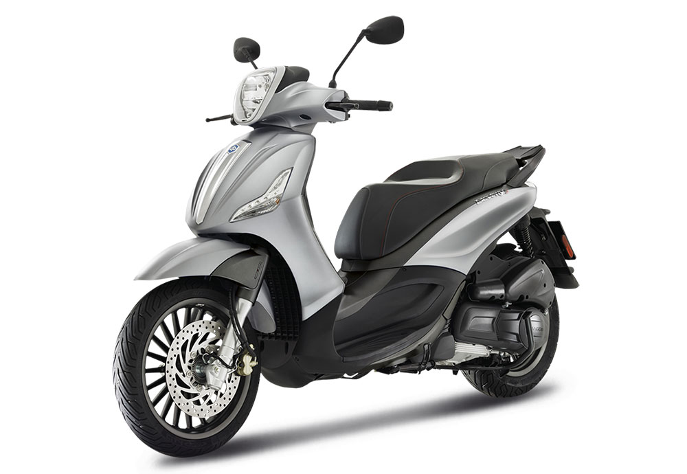 SellisBike - Piaggio Beverly S300 4V ABS ASR Argento Opaco Cometa