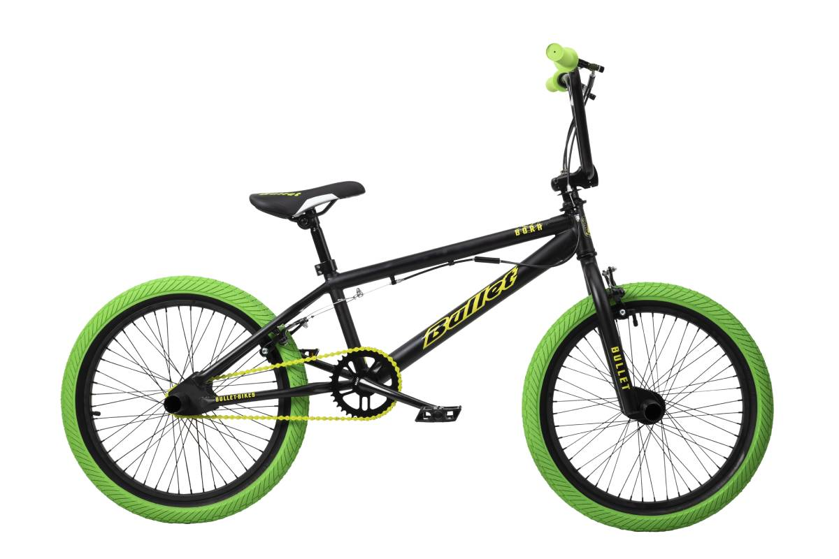 SellisBike - Bullet Bora Freestyle BMX Black & Green