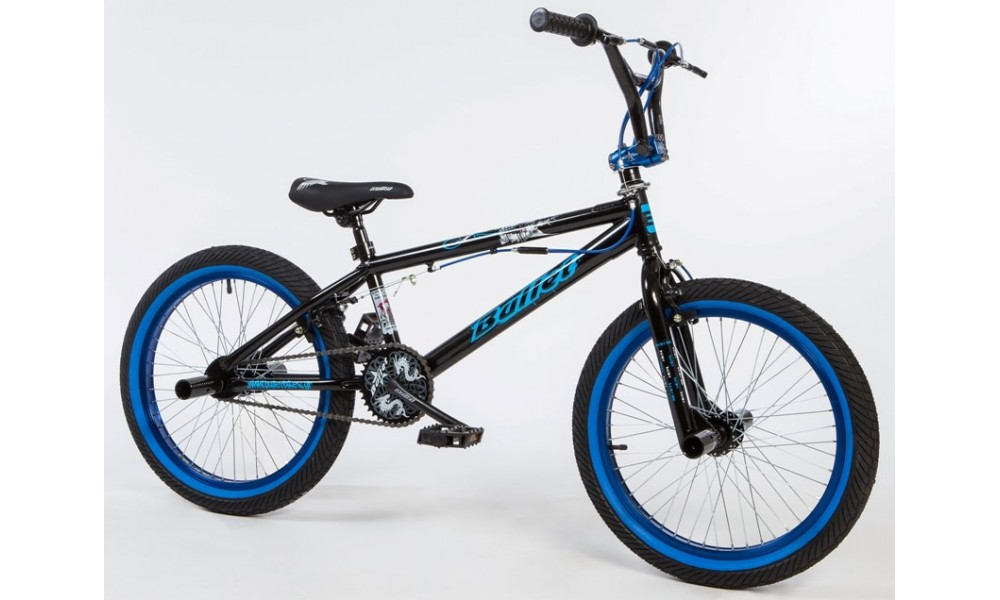 Bullet Bora Freestyle BMX Black & Blue