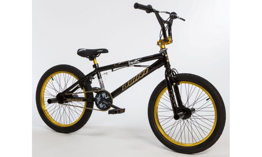 Bullet Bora Freestyle BMX Black & Gold