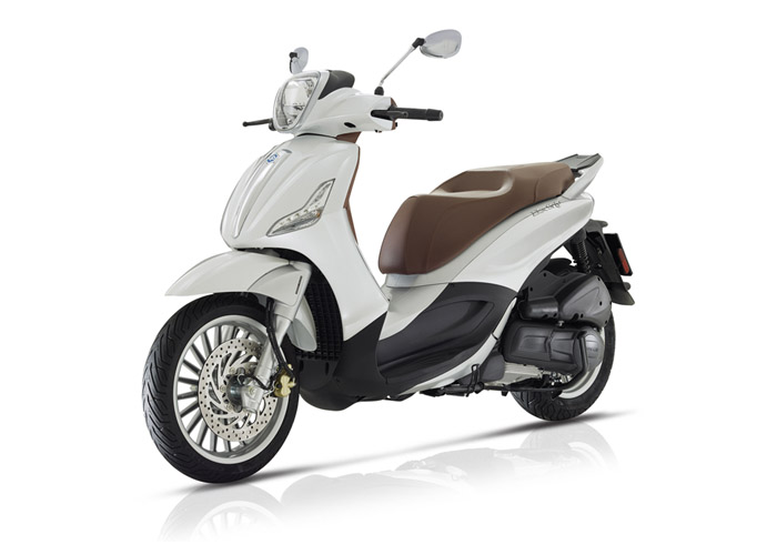 SellisBike - Piaggio Beverly 300 4V ABS E4 Pearl White