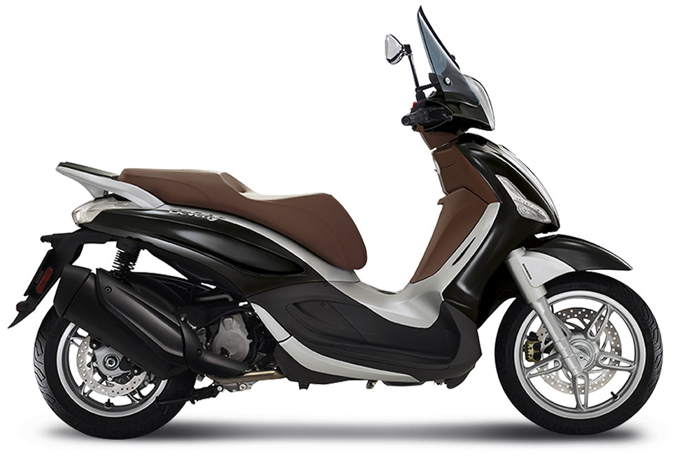 Piaggio Beverly 350 Sport Touring ABS Black Matte