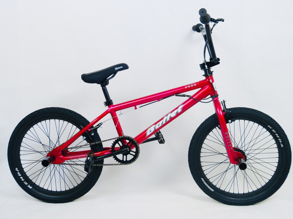 Bullet Bora Freestyle BMX Red