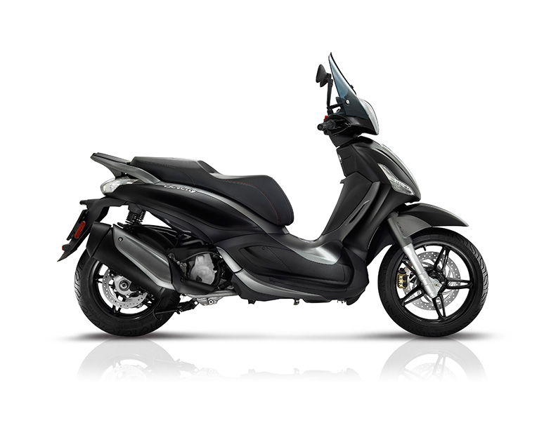 Piaggio Beverly 350 Sport Touring ABS E4 Black Matte