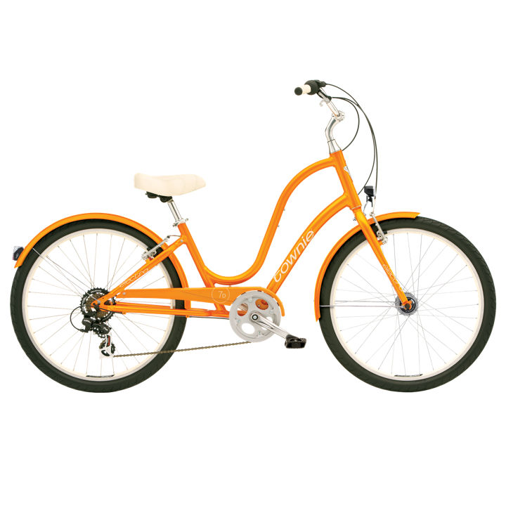 Electra Townie 7D Orange Lady