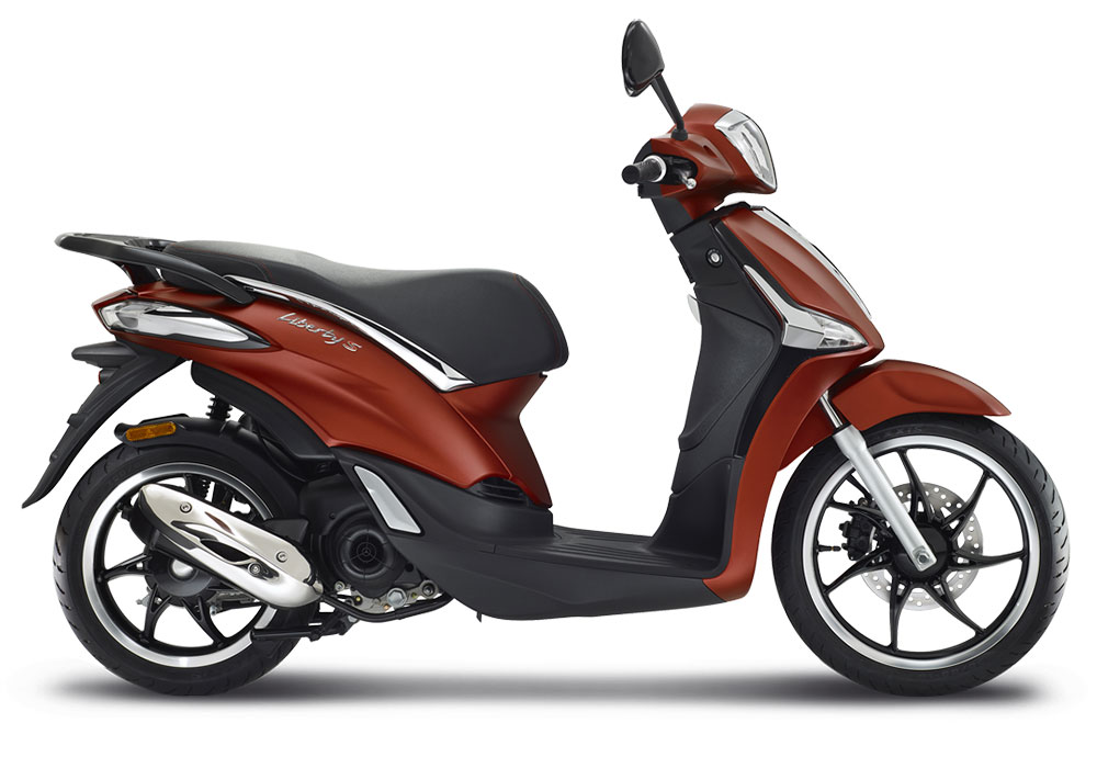 SellisBike - Piaggio Liberty S 50 4T iGet Rosso Opaco